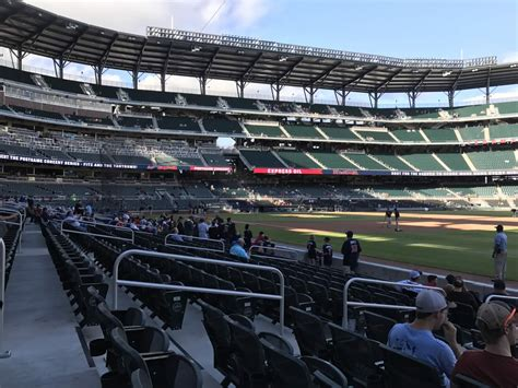 section 13 a suntrust park section 13 rateyourseats com