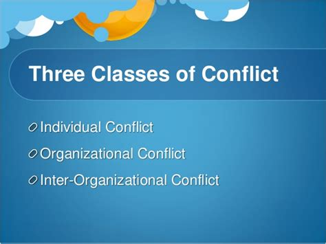 pattern of organizational conflict conflict management