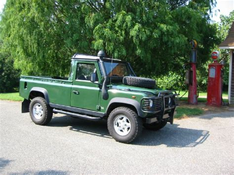 land rover 110 truck topworldauto gt gt photos of land rover defender 110 pick up