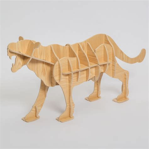 decorative crafts for home 100 wood leopard animal table european diy arts crafts