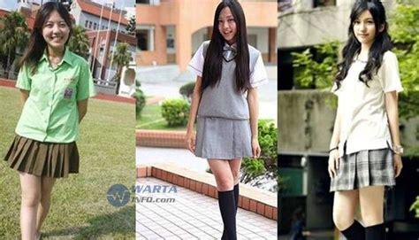 Seragam Sekolah Termahal 4 Baju Seragam Siswi Sekolah Paling Terseksi Di Asia