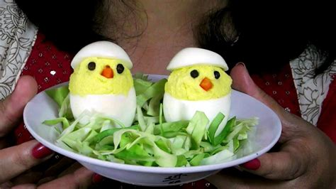 deviled egg chicks recipe easter recipe moms recipe  kids youtube