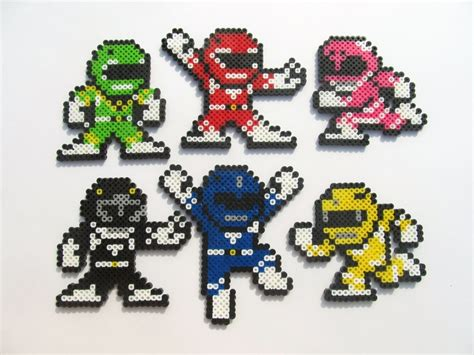 what is the charge on the bead mighty morphin power ranger perler sprite by