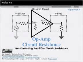op amps   inverting amplifier circuit resistance