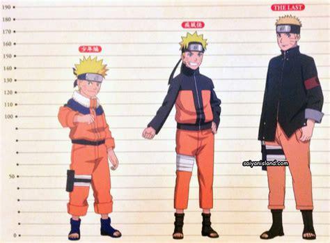 character growth   naruto world part  shippuden   daily anime art