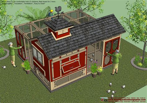 Chicken Hutch Design Home Garden Plans M112 Chicken Coop Plans Construction