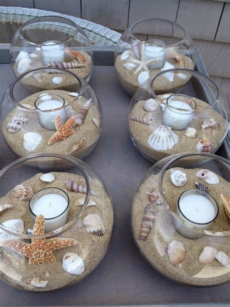 25  best ideas about Sand centerpieces on Pinterest