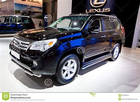 car jeep black black jeep car lexus gx 460 editorial photo