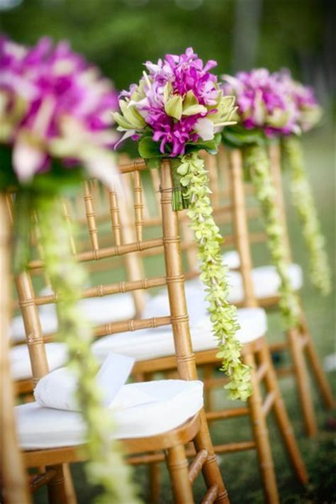 Wedding Aisle Marker Decoration by Hawaiian Wedding Decorations Decoration