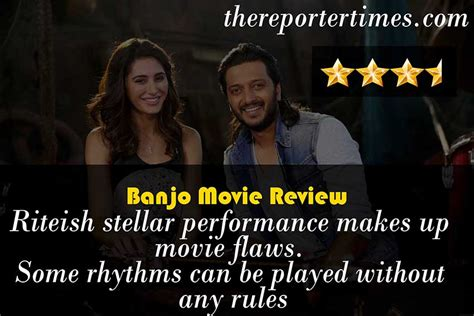 film review for up banjo review and rating 3 5 5 stars riteish stellar
