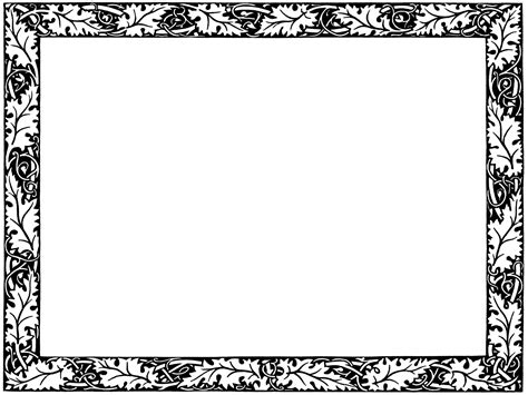 Decorative Page Borders by Decorative Page Borders Clipart Best