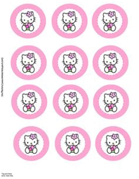 hello cupcake topper template blank banner print multiples and personalize