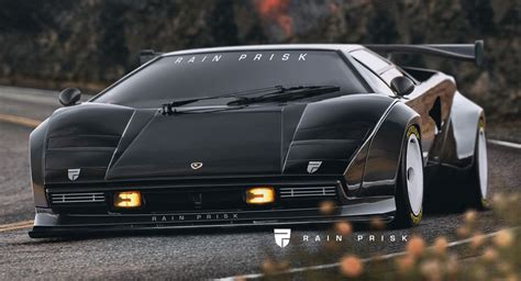 Lamborghini Countach Yes This Wide Bodied Lamborghini Countach Is But We