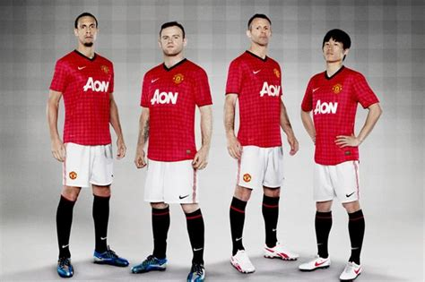 Jersey Manchester United Home 2012 2013 manchester united 2012 2013 jersey home kit