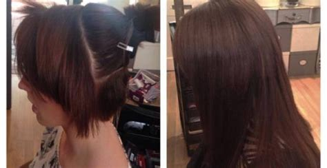 pics of short hair with weave clips best clip in hair extensions for short hair