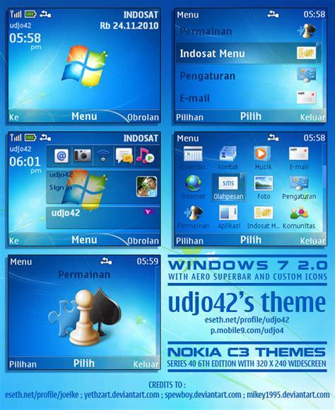 Nokia C3 Themes Windows 7 | windows 7 ver 2 0 nokia c3 theme
