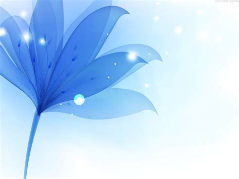 powerpoint hd templates blue flower powerpoint backgrounds hd free wallpaper
