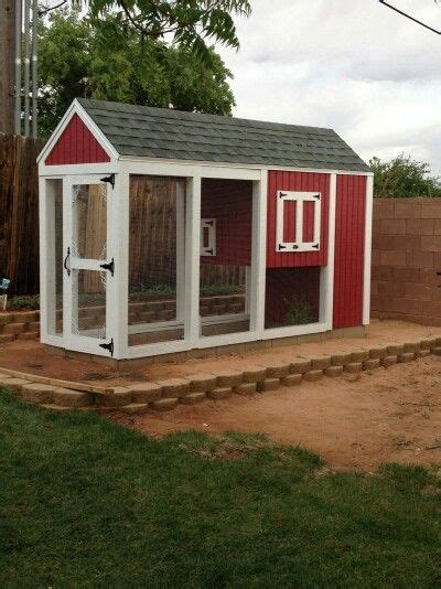 amazing chicken coop made by parents home decor and