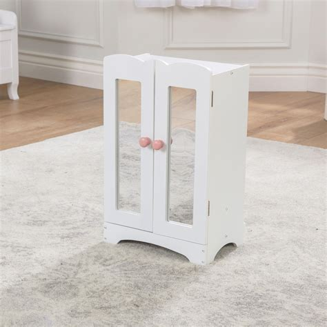 kidkraft doll armoire kidkraft wooden doll furniture lil doll armoire kidkraft