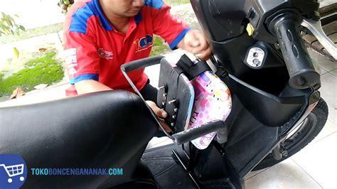 Kursi Bonceng Anak Untuk Motor Matic cara melipat kursi bonceng anak alpina untuk motor matic