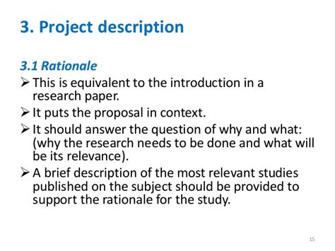 rationale of the study research paper what is a research paper rationale exle homework for you