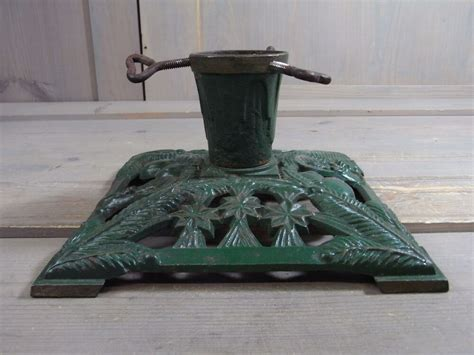 cast iron xmas tree za3 gorgeous cast iron metal tree stand antique german 1930 s ebay