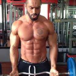 decker steroid beast motivation lazar angelov ez bar biceps curls
