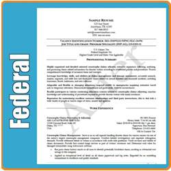 federal resume writing services for government resumes