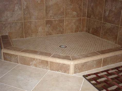 shower curb shower dam or threshold for tile showers