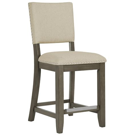 Upholstery Omaha by City Furniture Omaha Gray 24 Quot Upholstered Barstool