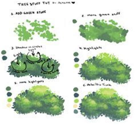 paint tool sai leaf brush 1000 images about how to draw realistic trees plants