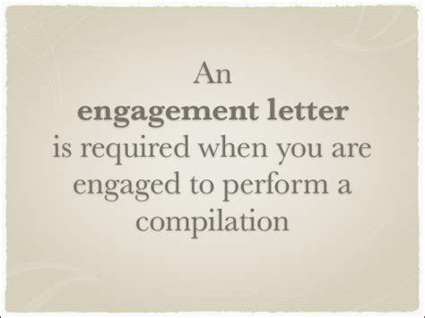Compilation Report Engagement Letter prescribed forms