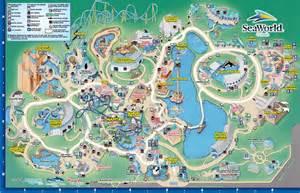 sea world florida map the thrills seaworld orlando