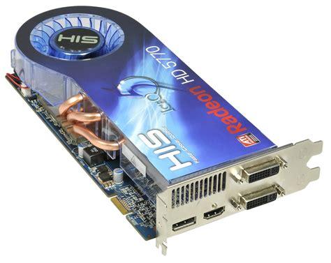 Vga Card Radeon Hd 5770 his hd 5770 iceq 5 1gb 128bit gddr5 pcie directx 11 eyefinity