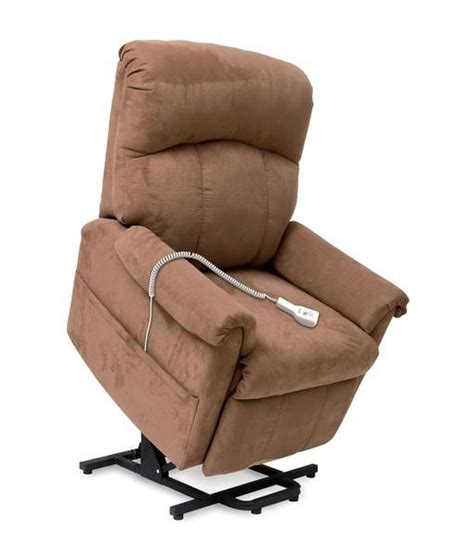 pride recliner lift chairs pride 805 electric wall hugger recliner lift chair in