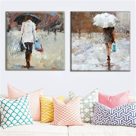 Handmade Paintings - new painting handmade canvas modern landscape