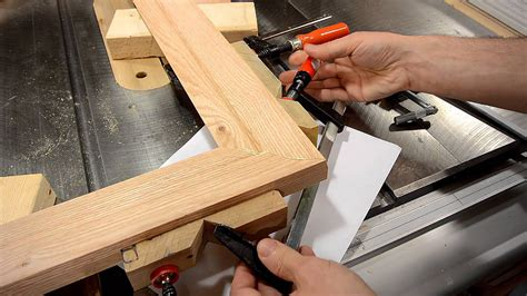 how to make boat seat frames making a picture frame make molding on the table saw