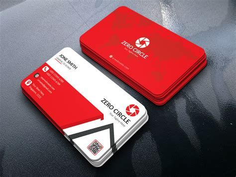 visiting card template photoshop business card templates psd free corporate