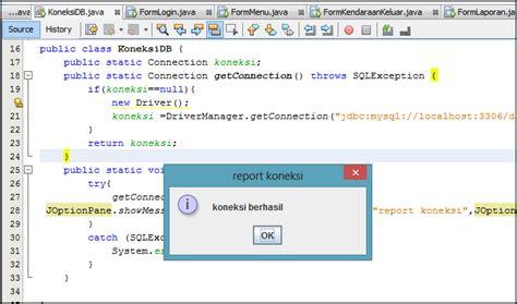 tutorial membuat menu login dengan java netbeans dan tutorial lengkap membuat aplikasi parkir kendaraan