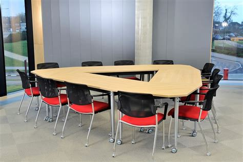 Triangle Meeting Table School Folding Tables For Classrooms Fusion Classroom Design