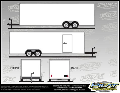 Sprint Car Design Template Www Imgkid Com The Image Kid Has It Trailer Wrap Design Templates
