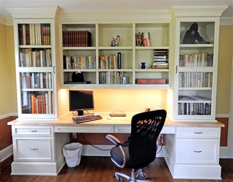office desk with bookcase and shelving 17 best ideas about custom bookshelves on pinterest built in bookcase built in cabinets and
