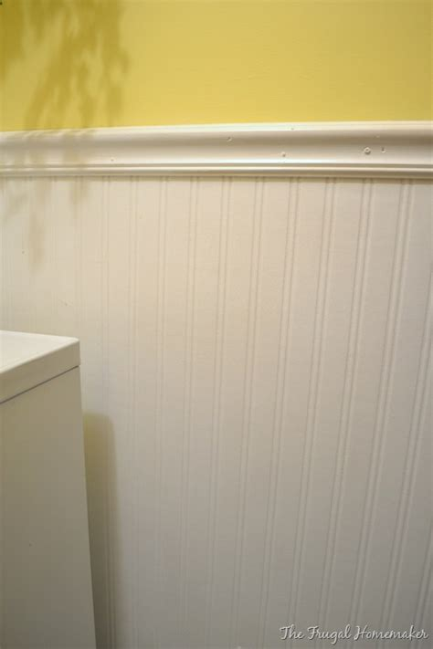 real beadboard day 17 add some wainscoting to your home