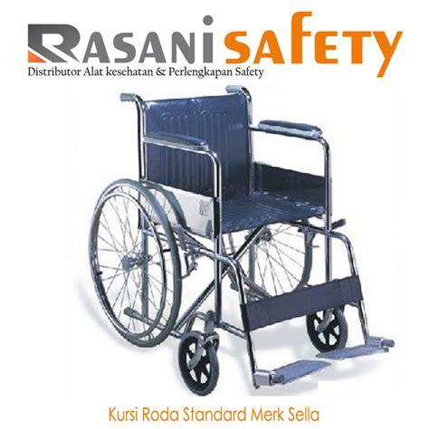 Jual Kursi Roda Jakarta Selatan kursi roda standard merk sella rasani safety