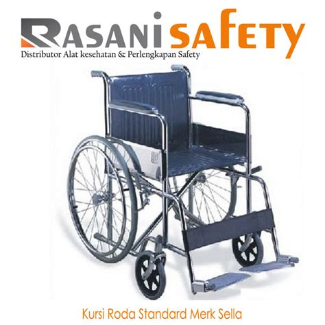 Jual Kursi Roda Travel Surabaya kursi roda standard merk sella rasani safety