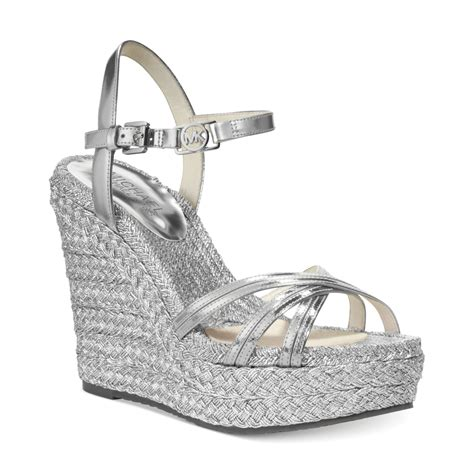 michael kors michael cicely ankle platform wedge