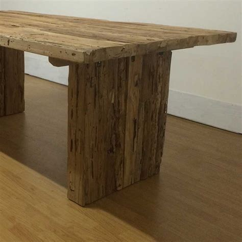 Rustic Farmhouse Dining Tables Tables Reclaimed Rustic Farmhouse Teak Dining Table