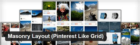 masonry layout pinterest like grid download 8 best wordpress grid plugins to keep your site looking