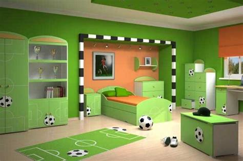 soccer bedroom ideas bright kids room design with soccer themed