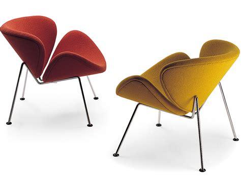 paulin orange slice chair hivemodern - Paulin Chair